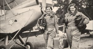 Sisters Mabel and Sheila Glass from Co Antrim took part in air races throughout England and also an endurance competition in Egypt in 1937.  Mabel  flew approximately 900 RAF aircraft while serving with the Air Transport Auxiliary during the second World War.