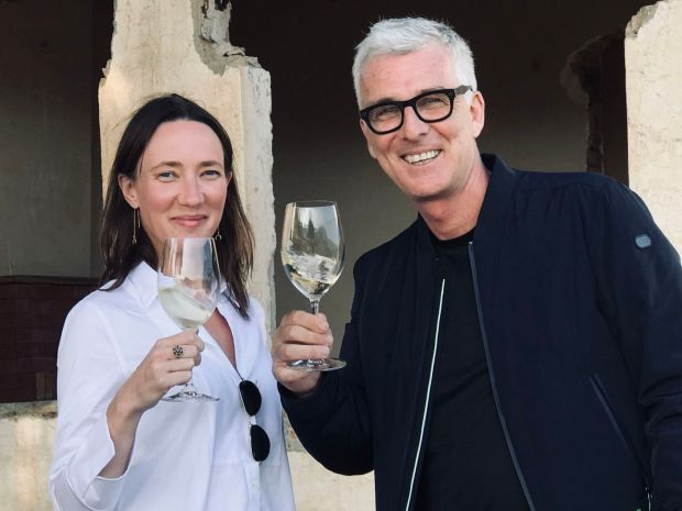 Avril Kirrane and Johnny McMorrough of Boutique Wines