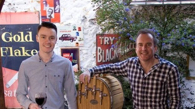 Ronan Farrell and Richie Byrne of Wine Lab