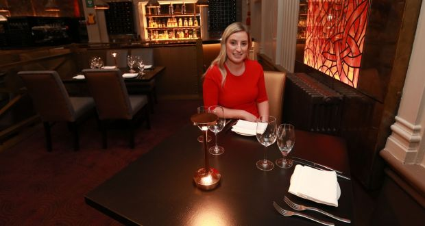 Social distancing: 'For us 1m is the way we need to go, because we are already losing 40 per cent occupancy in the restaurant,' says Nicole Jordan of Fire Steakhouse & Bar, in Dublin. Photograph: Laura Hutton