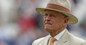 Geoffrey Boycott won't be part of the BBC's cricket coverage this summer. Photograph: Adrian Dennis/Getty/AFP