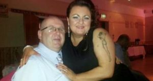 Pat McManus, a Strabane-born nurse who died in England, pictured with his niece Aileen Mullen.