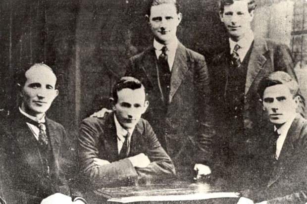 Members of Michael Collins's Squad