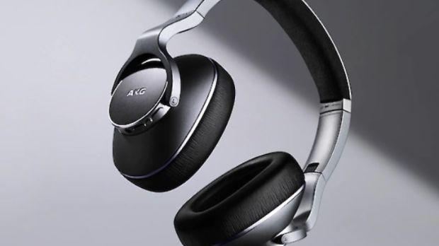 Samsung's AKG N700 bluetooth headphones.