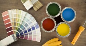 Paint sales boomed at Woodies. Photograph: iStock