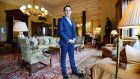 "Damien Bastiat, general manager of Ballyfin Hotel in Co Laois. ""Time and space are the ultimate luxuries. There will be a maximum of 24 guests in a 40,000 sq ft hotel."" Photograph: Alan Betson"