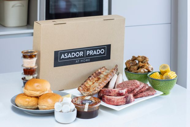 The barbecue box from Asador and Prado restaurants