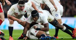 England rugby player Maro Itoje has spoken in the past about how he has been subjected to racist abuse. Photograph: Inpho