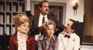 Fawlty Towers: the famous 'Don't mention the war' episode has been removed from UKTV because it contains 'racial slurs'