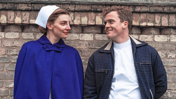 Molly Blixt Egelind and Morten Hee Andersen in New Nurses