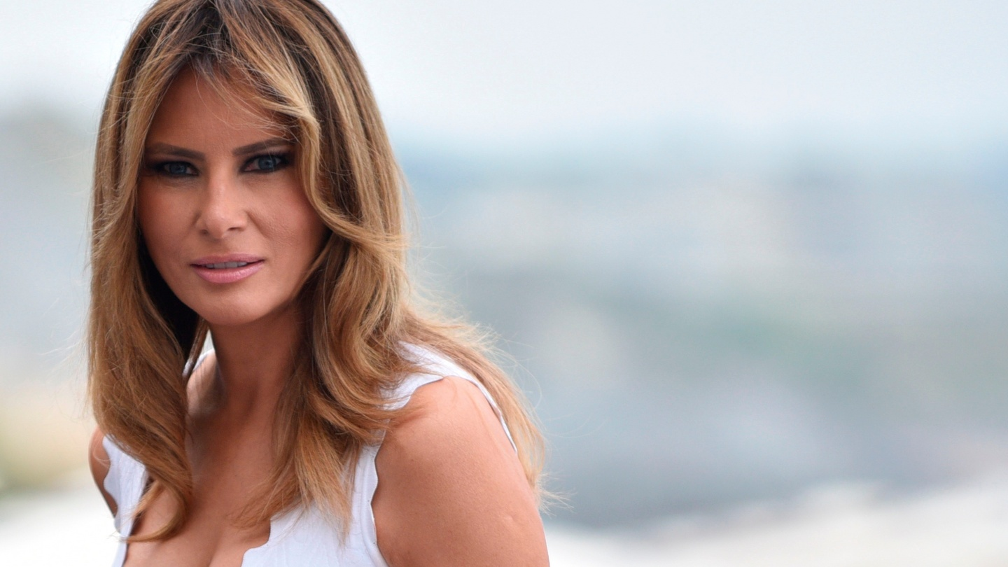 Melania Trump A Sphinx With A Rubber Eraser In Place Of A Tail