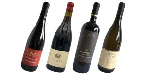 Four wines from grapes which have been cultivated far from their original homes