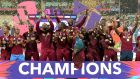 The West Indies are the defending T20 world champions. Photograph: Jan Kruger/Getty