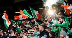 The FAI are increasingly hopeful that Ireland fans could attend internationals in September. Photo: Ryan Byrne/Inpho