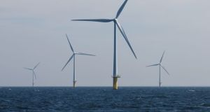 Off-shore wind turbines. File  photograph: Jasper Juinen/Bloomberg