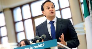 Taoiseach Leo Varadkar received emails warning of staff shortages in nursing homes. Photograph: Julien Behal