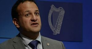 Taoiseach Leo Varadkar: he  said  he would like to see the new government have at least 90 TDs to ensure its viability. Photograph: getty Images