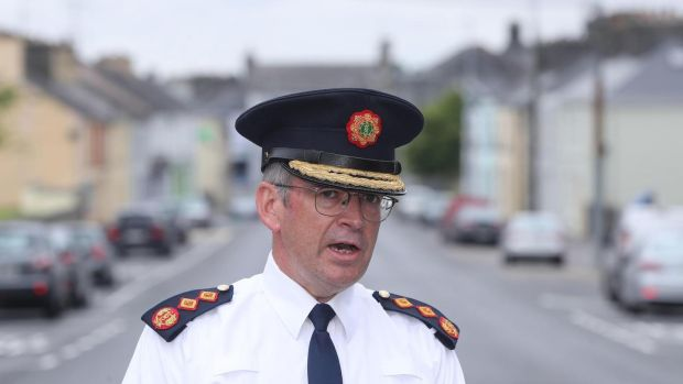 Garda Commissioner Drew Harris said there was no evidence that the killing was linked to organised crime or subversives. Photograph: PA