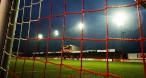 Sligo Rovers were rooted to the bottom of the Premier Division when the season was postponed. Photograph: Evan Logan/Inpho