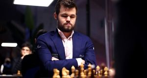 Magnus Carlsen is the first chess player to make the top 10 esports earners. File photograph: Getty Images