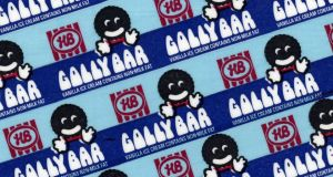 HB's Golly Bar was renamed the Giant Bar, and given new packaging, in 1992