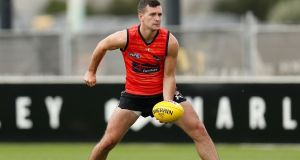 Former Tyrone footballer Conor McKenna is the first player in the AFL to test positive for coronavirus. File photograph: Getty Images