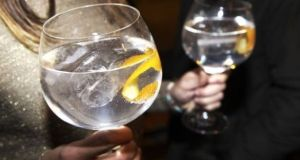 Sales of gin rose 4.6 per cent to 338.500 cases in the Republic last year.