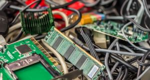 A new national record of 10.89kg of e-waste was recycled per head of population last year, making WEEE the second-best performing recycling scheme in Europe. Photograph: iStock