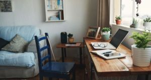Getting ahead in the home office requires dedication. Photograph: iStock