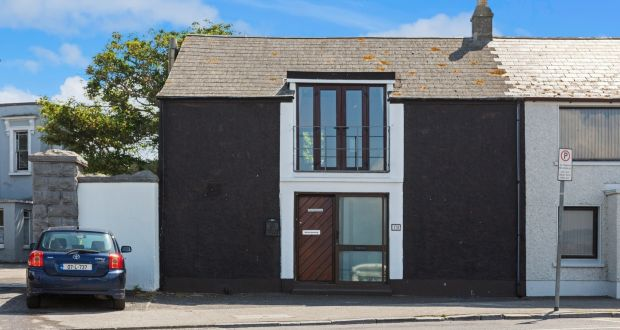 The Boathouse, 17a Harbour Road, Skerries, measures about 90sq m and is in need of an upgrade.