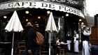French cafés and restaurants have begun to reopen after the coronavirus lockdown, helping boost business activity. Photograph: Philippe Lopez/AFP