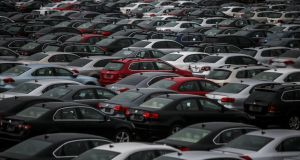 Just 9.6m vehicles are expected to be sold in the EU this year, compared with 12.8m  last year