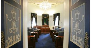 Senators will argue on Wednesday that there is no constitutional impediment to the summoning of a Seanad  with 49, rather than 60, members. File photograph: Alan Betson/The Irish Times