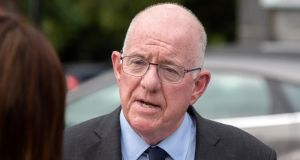 According to sources,   Minister for Justice Charlie Flanagan may announce a review of the controversial legislation. Photograph: Colin Keegan, Collins Dublin