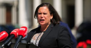 Sinn Féin president Mary Lou McDonald. Voters for her party  are 'entitled to a fair hearing. But no one is entitled to fractional legislative victories', says political scientist Arthur Isak Applbaum. Photograph: Gareth Chaney/Collins
