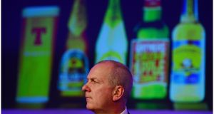 Former C&C chief executive Stephen Glancey stepped down in February. Photograph: Bryan O'Brien