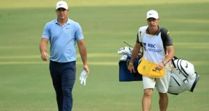Brooks Koepka: has decided to skip the Travelers Championship after his caddie Ricky Elliott tested positive (then later negative) for Covid-19.  Photograph:  Streeter Lecka/Getty Images