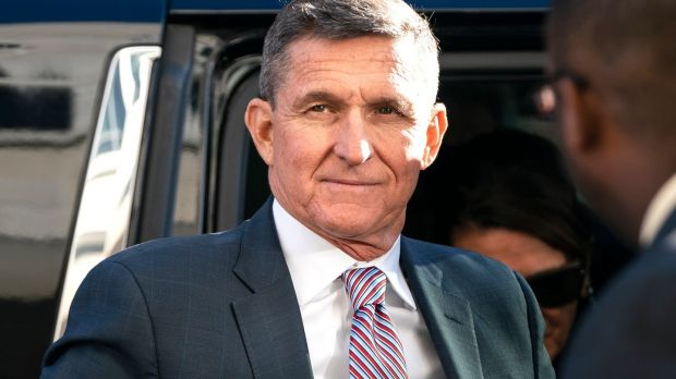 A federal appeals court has ruled that the case against former national security adviser Michael Flynn should be dropped. File photograph: EPA
