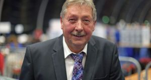DUP's Sammy Wilson. Photograph: Liam McBurney/PA Wire