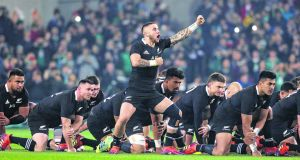 All Blacks:  could be facing Australian rugby league's Kangaroos in December.