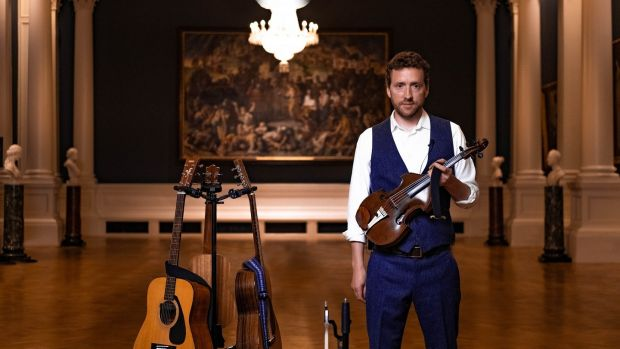 Colm Mac Con Iomaire in Other Voices -- Courage