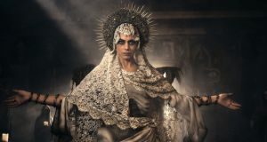 Lorenza Izzo as Santa Muerte in Penny Dreadful: City of Angels, beginning Wednesday on Sky Atlantic