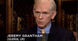 Veteran money manager and bubble expert Jeremy Grantham described the current market a 'real McCoy' bubble