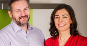 Summit NutriHealth cofounders Mark Clifford and Paula Gaynor. The company is focusing on the Irish market initially and its products are now available online and in more than 70 outlets nationwide