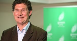 Green Party leader Eamon Ryan announces that the party had voted in support of the proposed programme for government. Photograph: Sam Boal/RollingNews.ie
