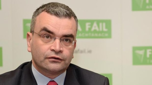 Fianna Fáil's Dara Calleary is now chief whip. Photograph: Eric Luke/The Irish Times