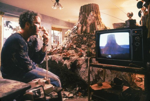 Close Encounters of the Third Kind: Richard Dreyfuss in the Steven Spielberg film. Photograph: Sony Pictures