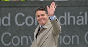 Minister for Finance Paschal Donohoe is a candidate for the eurogroup presidency, a two-and-a-half year term to succeed Portugal's Mário Centeno. Photograph: Alan Betson / The Irish Times