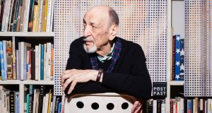 Milton Glaser in his studio in New York in 2012. Photograph: Robert Wright/New York Times