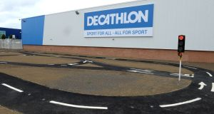 Decathlon in Ballymun, Dublin. Photograph: Dara Mac Dónaill